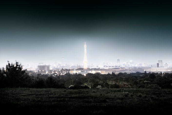 Berlin Skyline Teufelsberg