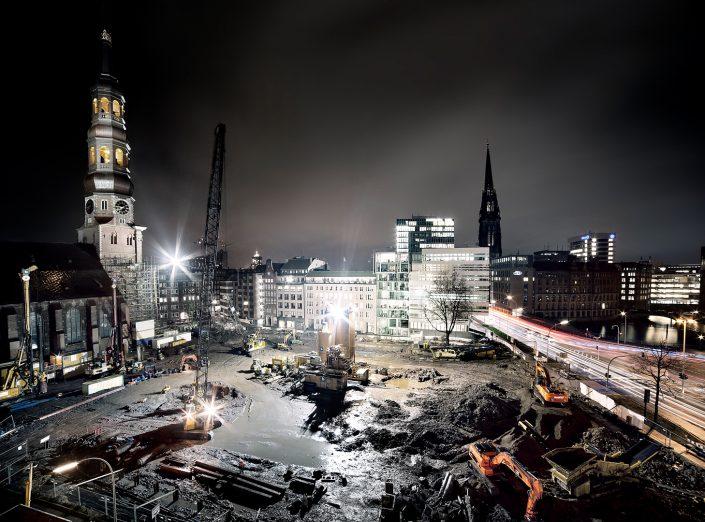 Hamburg dark Towers