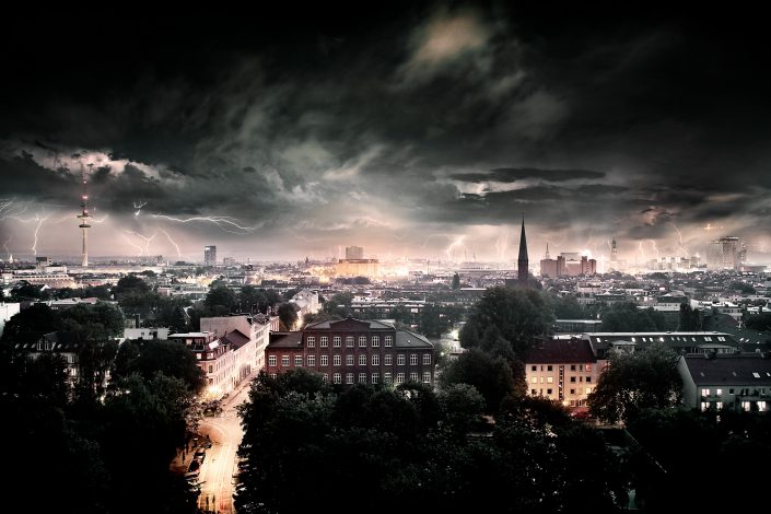 Hamburg Gewitter