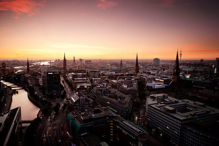 Hamburg Sunrise