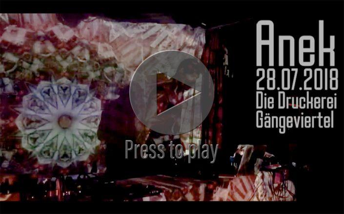 Dance Against The Machine - Die Druckerei / Gängeviertel Hamburg, 28.07.2018,