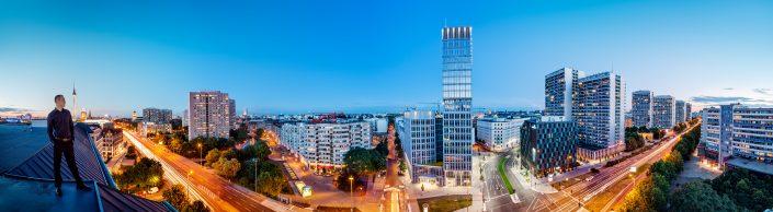 Blick über die Leibziger Straße in Berlin