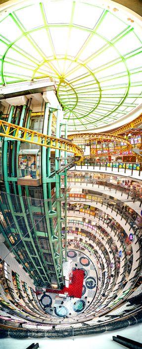 180° Panorama Dragon Center Hong Kong Sham Shui Po