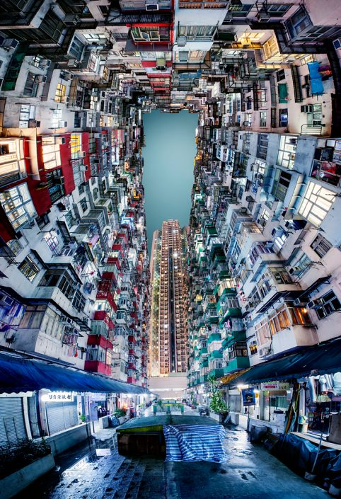 Hong Kong Quarry Bay inner courtyard