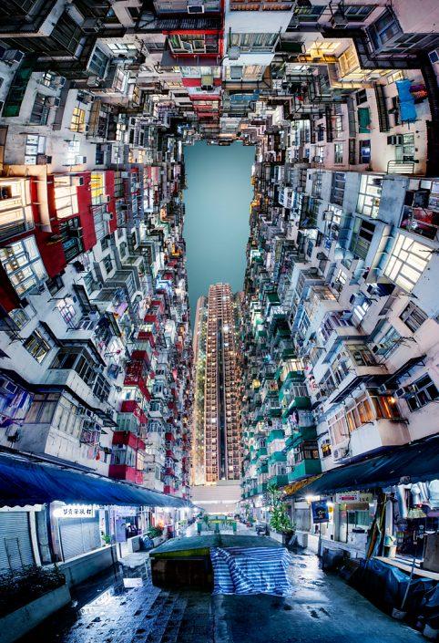 Hong Kong Quarry Bay inner courtyard