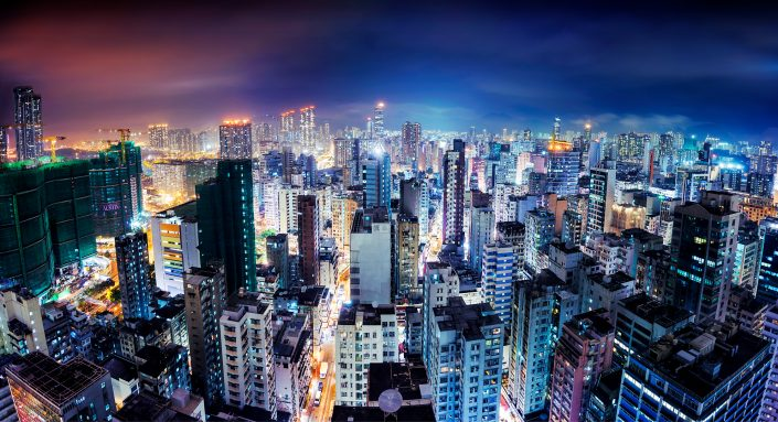 View over Kownloon Mong Kok