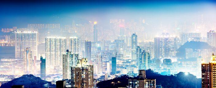 Hong Kong from Lions Rock