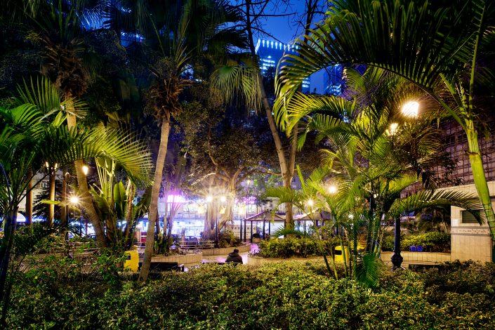 A Park in Kwun Tong Hong Kong