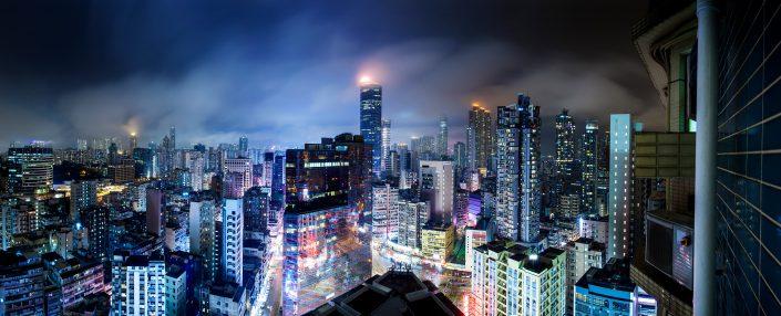 view over Mong Kok