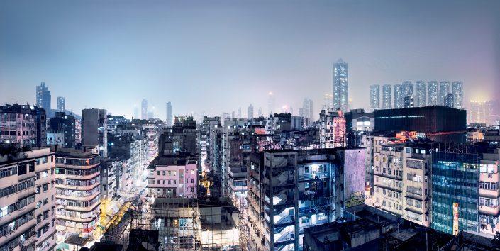 Hong Kong Sham Shui Po Skyline