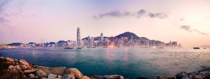 Hong Kong Waterfront Skyline