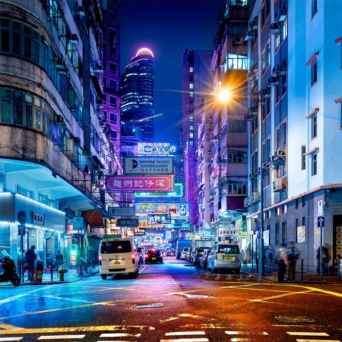 Neonlights in the streets of mong kok