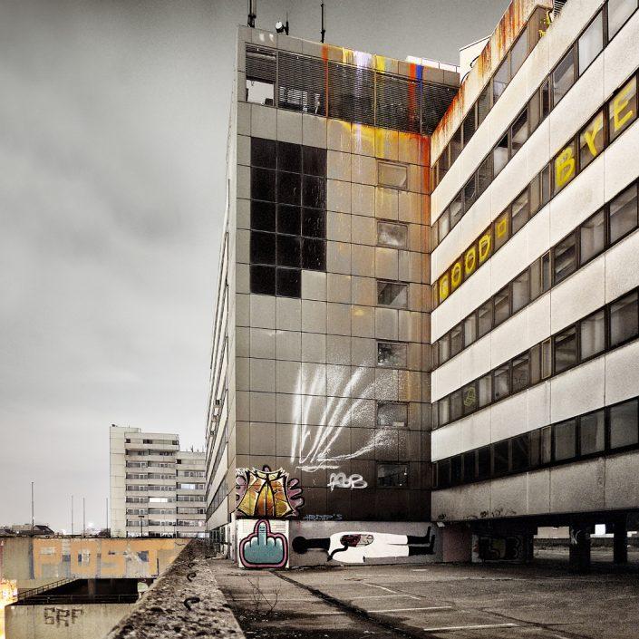 abriss Frappant, heute IKEA Große Bergstraße