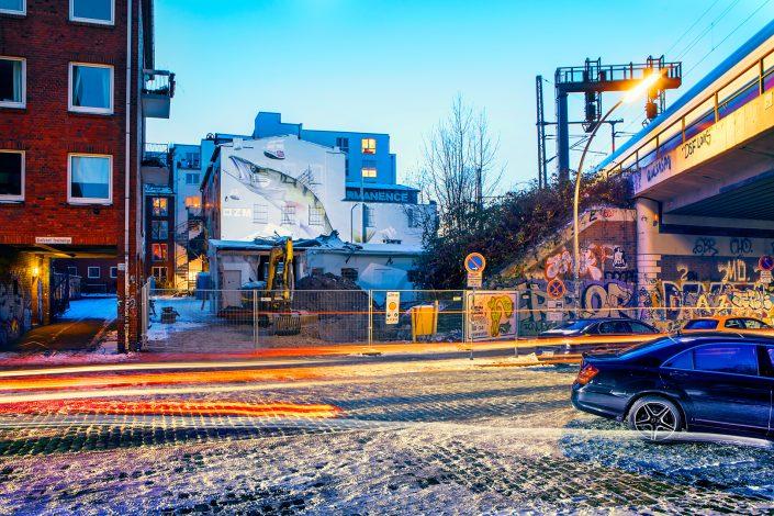 abriss OZM Gallery Hamburg