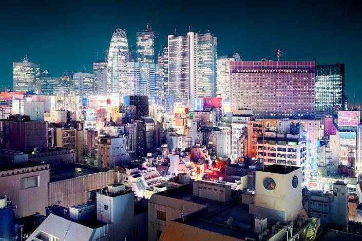 Shinjuku Skyline view