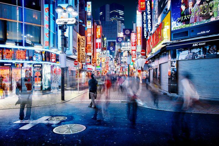 Shibuya Neon Street